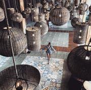 Ihre Ferien auf Bali erhielt Tamy nach eigenen Angaben zu 80 Prozent von Auftraggebern bezahlt. (Bild: www.instagram.com/morethanyoucantake)