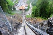 Trassee zwischen der Talstation und dem 1. Tunnel. (Bild: PD)