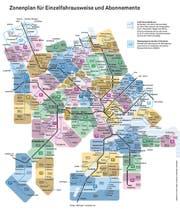 Der Zonenplan, wie er heute gültig ist. (Bild: PD)