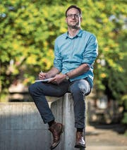 Alexander von Däniken, Leiter Ressort Kanton der Luzerner Zeitung. (Bild: Pius Amrein (Luzern, 19. Oktober 2017))