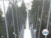 Sattel-Hochstuckli: Noch kein Skibetrieb möglich. (Bild: Webcam)