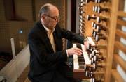 Der Pariser Organist Pierre Pincemaille verhalf dem Tastentag im KKL zu einem eindrücklichen Abschluss. (Bild: PD/Lucerne Festival/Priska Ketterer)