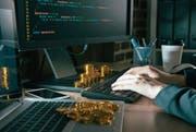 Viele junge Internetfirmen wittern gute Chancen auf das grosse Geld in der Fintech-Branche. (Bild: Getty)