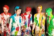 Die Farbe steht den Jungs von Pablopolar ganz gut. Die neue Unbekümmertheit auch. (Bild: PD)