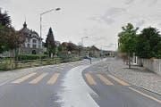 Der Unfall ereignete sich auf dem Fussgängerstreifen bei der Adlermatte in Willisau. (Bild: Google Maps)