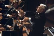 Er verstand nicht nur wahnsinnig viel von Musik, sondern auch viel vom Geschäft: Herbert von Karajan (1908–1989). (Bild: Getty)