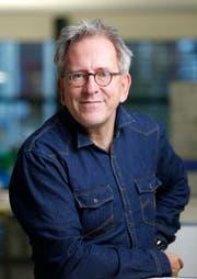 Wolfgang Holz, Reporter der Neuen Zuger Zeitung. (Bild Stefan Kaiser)
