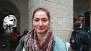 «Auch wenn man sparen muss: Die Bildung ist ganz sicher der falsche Ort», sagt Merline Rutz (20), Schülerin aus Obwalden. (Bild: Martina Odermatt)