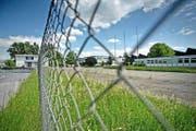 Ab November werden in diesen Gebäuden auf dem Boa-Areal in Rothenburg 180 Asylsuchende vorübergehend eine Bleibe finden. (Bild Pius Amrein)