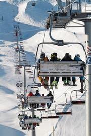 Der neue Sessellift vom Eisee aufs Brienzer Rothorn ist seit dem 23. Dezember offiziell in Betrieb. (Bild: PD)