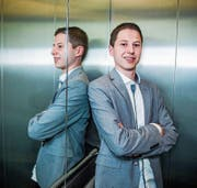 Dario Duss ist neuer Präsident des Theaters Littau. (Bild: Dominik Wunderli (Luzern, 22. April 2017))