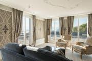 Die neu gestaltete Alexander-Suite im Hotel Gütsch. (Bild: pd)