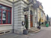 Eingang des Restaurants Maihöfli in der Stadt Luzern. (Bild: René Meier (Luzern, 21. Februar 2018))