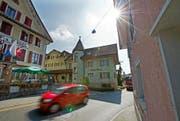 Die Hitzkircher sollen im Mai 2016 über die Revision der Ortsplanung abstimmen können. Im Bild: Der Dorfkern von Hitzkirch. (Bild Eveline Beerkircher)