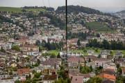 Blick auf die Gemeinde Kriens (Bild: Philipp Schmidli (Kriens, 3. August 2017))