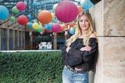 Sie möchte ein Vorbild für andere Frauen sein: Miss Zentralschweiz Fabienne Paglia. (Bild: Patrick Hürlimann (Zug, 29. September 2017))