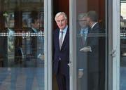 Michel Barnier bei einem Besuch der Deutschen Industrie- und Handelskammer. (Bild: Krisztian Bocsi/Bloomberg (Berlin, 29. November 2017))