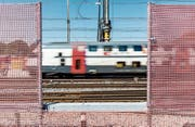 Das Verkehrswachstum hält an, nun soll die Kapazität erhöht werden. (Bild: Thomas Hodel/KEY (Bern, 24. August 2016))
