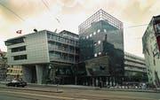 Das Bundesamt für Informatik und Technologie an der Monbijoustrasse in Bern. (Bild: Lukas Lehmann/Keystone)