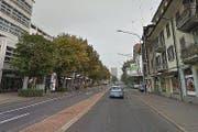 Zwischen der Gubel- und er Guthirtstrasse muss die Baarerstrasse saniert werden.. (Bild: Google Maps)