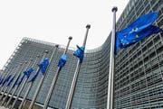 In der EU-Kommission würde man sich über die Wahl von Macron freuen. (Symbolbild Keystone)