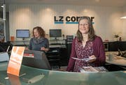 Die Menschen hinter den News. Vreni Jucker fotografiert am 13. April 2017 beim LZ Corner Luzern. (Bild: Corinne Glanzmann / Luzerner Zeitung (Luzern, 13. April 2017))
