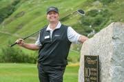 Patrick Widmer, Direktor des Golfplatz Andermatt Swiss Alps Golf Course. (Bild: Boris Bügrisser/Neue LZ)