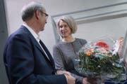 Stadtpräsident Beat Züsli (SP) freut sich, «dass wir bald wieder komplett sein werden». (Bild: Pius Amrein)