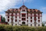 Das Hotel Vitznauerhof in Vitznau. (Bild: Nadia Schärli (Vitznau, 17. Juli 2017))