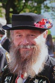 Porträt Hans Mathis. (Bild Beat Christen)