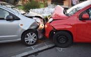 Die Unfallstelle in Geuensee. (Bild: Luzerner Polizei (Geuensee, 11. Oktober 2017))