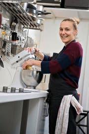 Mary Miso alias Marianne Frener in ihrem Luzerner Kochstudio. (Bild: Dominik Wunderli / Neue LZ)