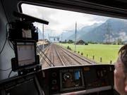 Das neue Zugsicherungssystem ETCS L2 leidet noch an Kinderkrankheiten und sorgt für Unterbrüche am Gotthard. (Archiv) (Bild: KEYSTONE/ALEXANDRA WEY)