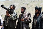 Talibanpatrouille in der afghanischen Provinz Herat. (Bild: Allauddin Khan/AP)