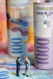 Für Parteispenden gibt es in der Schweiz im Gegensatz zu fast allen anderen Demokratien der Welt keine Offenlegungspflicht. (Bild Manuela Jans)