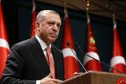 In der Türkei sollen Menschen gefoltert worden sein. Amnesty International kritisiert den türkischen Präsidenten Erdogan. (Bild: Press Presidency Press Service via AP, Pool)