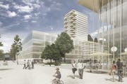 Das Projekt Eichhof West in Kriens. (Bild: PD)