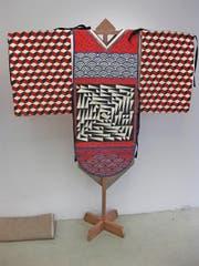Pseudojapanisch: Kimono geschneidert und bemalt vom Künstlerduo Porte Rouge. (Bild: PD)