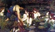 Der «männliche Blick»: Die Manchester Art Gallery hat das Gemälde «Hylas und die Nymphen» von John William Waterhouse aus dem Jahr 1896 vorübergehend entfernt. (Bild: PD)