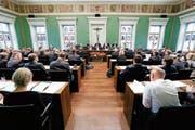 Der Kantonsrat: Die Meinungen zu den Protagonisten des Zuger Sexskandals scheinen nun gemacht. (Bild: Stefan Kaiser / Neue ZZ)