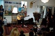 Sängerin Silayne gibt ein Konzert. (Bild: Maria Schmid (Zug, 8. März 2018))