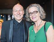 Dieter Ammann (mit Frau Yolanda): «Man denkt bei Primadonna fälschlicherweise an Diva.» (Bilder Roger Grütter)