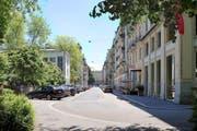 So sieht die Sempacherstrasse in der Stadt Luzern heute aus. (Bild: PD)