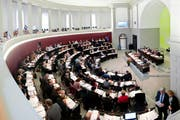 Im Luzerner Parlament herrscht betreffend Globalbudget der Gemeinden keineswegs Einigkeit. (Bild: Boris Bürgisser / Neue LZ)