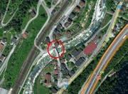 Hier bei der Wilerbrücke in Gurtnellen ereignete sich der Unfall. (Bild: Mapsearch)