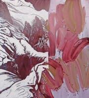 Realistisch und abstrakt zugleich: «Le Mont-Blanc» von Thomas Muff. (Bild: PD)