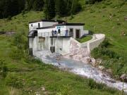 Das EWA nutzt die Wasserkraft: Das Kraftwerk Gurtnellen wird umfassend erneuert. (Bild: PD)