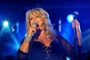 Die zarte Dame mit der rauchigen Stimme: Bonnie Tyler. Hier ein Foto aus dem Jahr 2010. (Bild: Archiv Neue LZ / Corinne Glanzmann)
