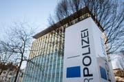 Hauptgebäude der Luzerner Polizei. (Bild: Urs Flüeler / Keystone (Luzern, 29. März 2017))