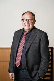 Bernard Thurnheer, Fernsehlegende. (Bild: Urs Bucher (Urs Bucher))